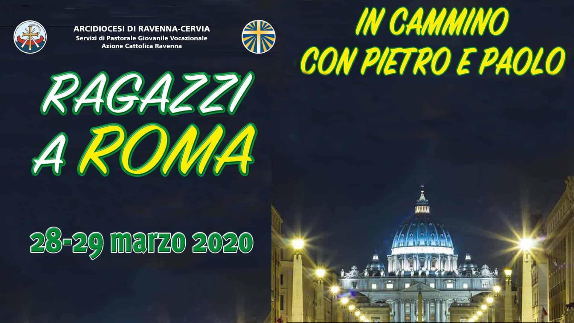 manifesto pellegrinaggio roma